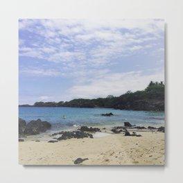 Waialea Beach (Beach 69) Metal Print