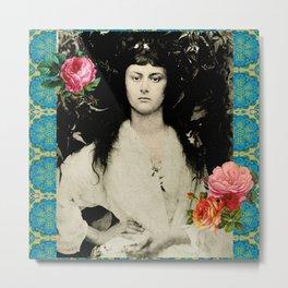 Alice Collage Metal Print
