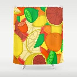 Cute Fruits! Shower Curtain