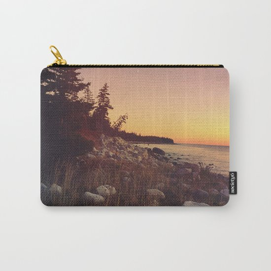 Seaside Sunset Carry-All Pouch