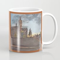 college Mugs featuring Crouse College, Syracuse University by Ken Coleman