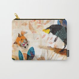 The Raven nad the Fox Carry-All Pouch