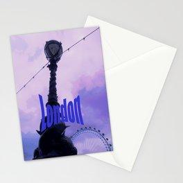 London Latern Stationery Cards