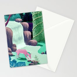 The Whispering Waters of Eventide Vale Stationery Cards
