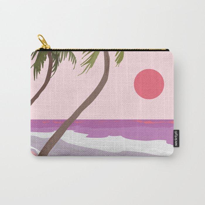 Tropical Landscape 01 Carry-All Pouch