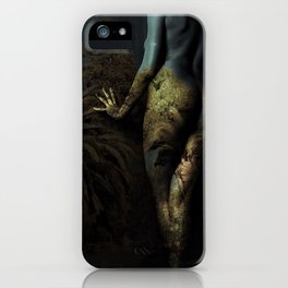 Midnight At The Oasis iPhone Case