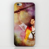 les mis iPhone & iPod Skins featuring  Les Misérables Enjolras Genderbend by Kjerstin A