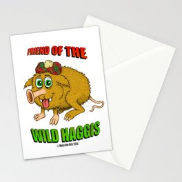 Friend of The Wild Haggis Stationery Cards