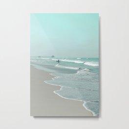 Surf City Metal Print