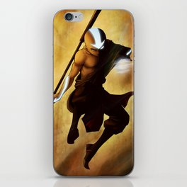 Aang avatar state iPhone Skin
