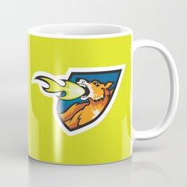 Fire Breathing Rowdys Logo Coffee Mug