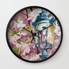 Paris in Spring Wall Clock