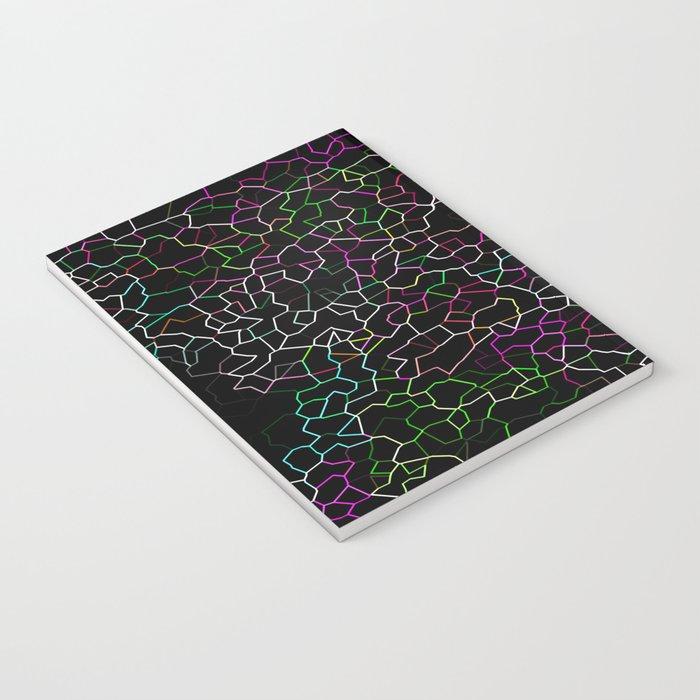 Spring Crackle Notebook