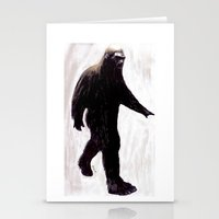 bigfoot Stationery Cards featuring Bigfoot by Zombie Rust