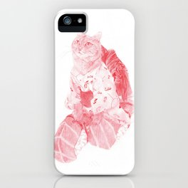 Wouldst thou not take their lives who seek for thine? iPhone Case