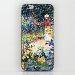 In the Garden Claude Monet 1895 iPhone Skin