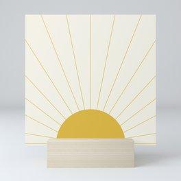 Sunrise / Sunset Minimalism Mini Art Print