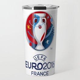 Logo Uefa Euro 2016 Travel Mug