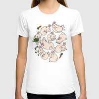 rabbits T-shirts featuring Rabbits by Marie-Ève Cardinal