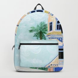 Little Victorian House Backpack