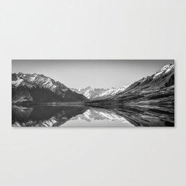Lake Ohau Reflection Canvas Print