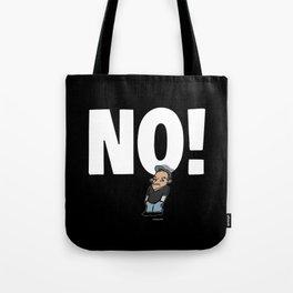 No! no.1 white Tote Bag