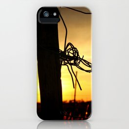 On The Border iPhone Case