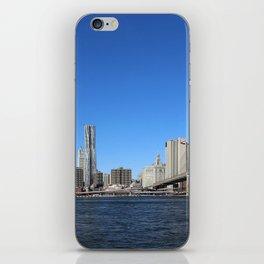 Manhattan Skyline with Bridges iPhone Skin
