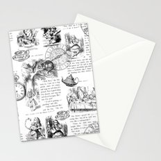 Alice in Wonderland - Pages Stationery Cards