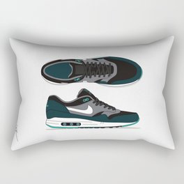 Air max essential 1 green/gray #2 Rectangular Pillow