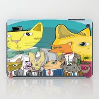 a lot of cats iPad Cases featuring Cats on Cats on Cats by ElmWood Grove