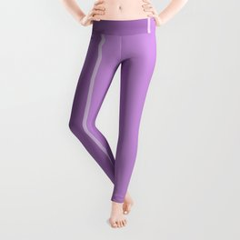 Purple Lines Leggings