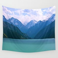 Lake t1me Disposition Wall Tapestry
