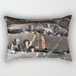 Strange Angels | Collage Rectangular Pillow
