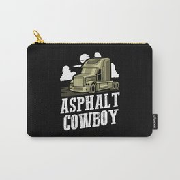 Asphalt Cowboy | Trucker Carry-All Pouch