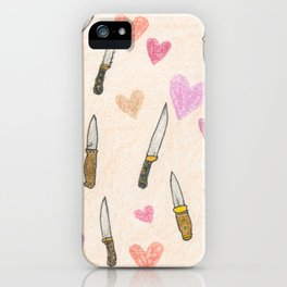cute knifes iPhone Case