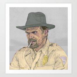 Hooper Art Print