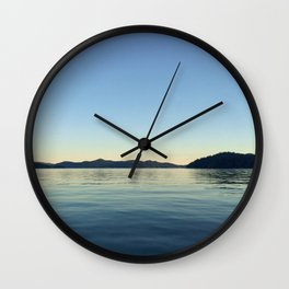 Ocean Calm V Wall Clock