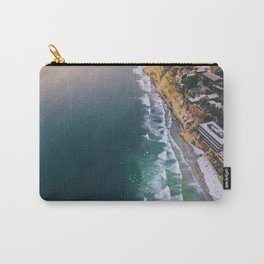 Aerial view of Scripps Pier in San Diego Carry-All Pouch