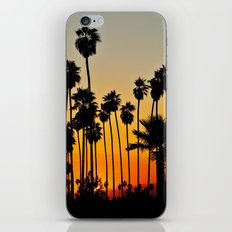 Palms to the Waning Day iPhone & iPod Skin