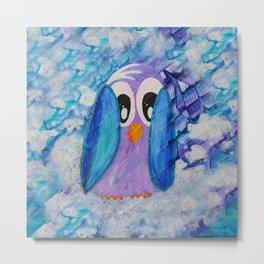 Guin Quirky Bird Series Metal Print
