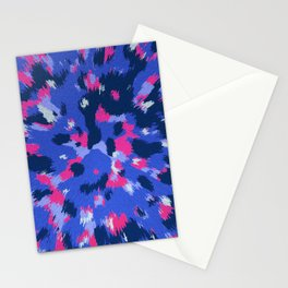 3D Abstract organic pattern Stationery Cards
