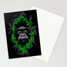 Shy Green Eyes Stationery Cards