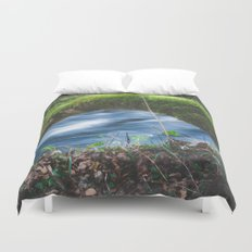 Enchanted magical forest Duvet Cover
