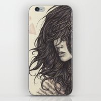 fern iPhone & iPod Skins featuring Fern by Brettisagirl