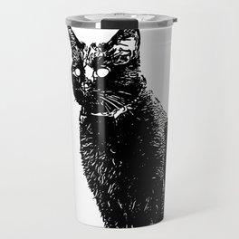 Transparent Cat Travel Mug