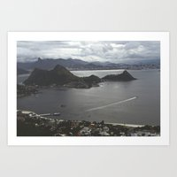 brazil Art Prints featuring Brazil by Lance Sitton