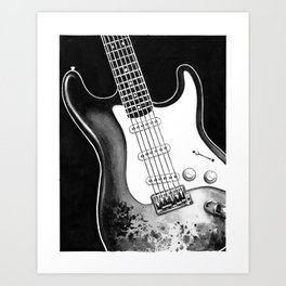 Stratocaster Art Print