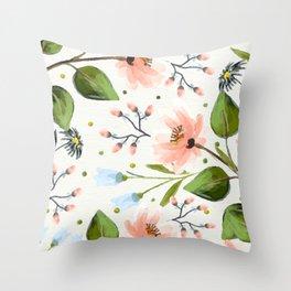 Flowers 1120 Throw Pillow