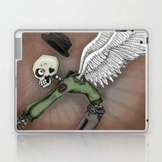Angel of Death Skeleton by RonkyTonk Laptop & iPad Skin